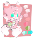 Strawberry Matcha Macaron Axolgooey MYO (Monami) by Miikage