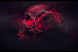 Skull Wallpaper by Dezzso