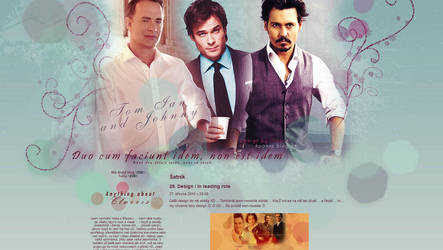 Tom, Ian and Johnny by Clarris13