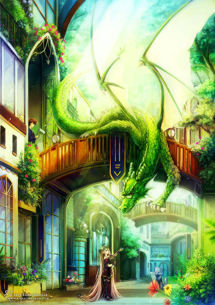 Dragon University by kawaiihannah
