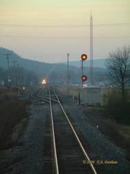 Sunrise Train Meet by labrat-78