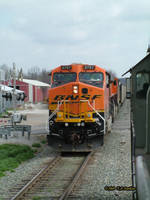 BNSF 5767 at Gentry Arkansas by labrat-78