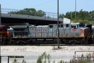 KCS 4575 at Pittsburg by labrat-78