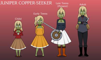 SKYRIM - JUNIPER COPPER-SEEKER by Columbia-Rose