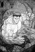 Michael Turner Hulk Detailed by amitjaiswar15893