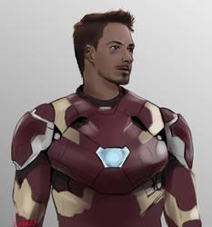 Tony Stark by Sofalein