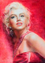 Marilyn Monroe by onpumi