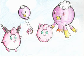 Balloon Pokemon Crossing by Sass-Cat