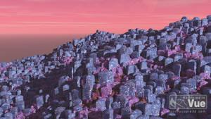 Alien Landscape by Fobok