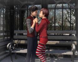 Winter Love by Fobok