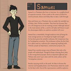 Character Bio (Samuel) by SYRSA