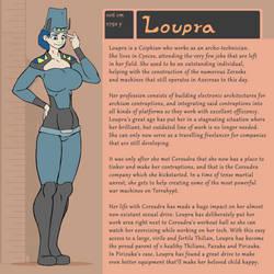 Character Bio (Loupra) by SYRSA