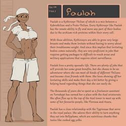 Character Bio (Paulah) by SYRSA