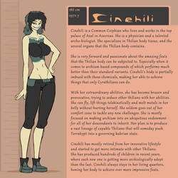 Character Bio (Cinehili) by SYRSA
