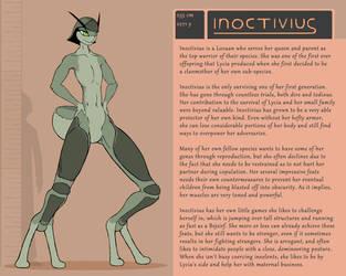Character Bio (Inoctivius) by SYRSA