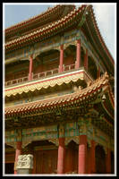 Buddhist Temple by LuckyOldDawg