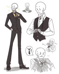 Nothing suits me like a suit by SnajeyArt