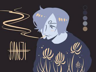 ColorPalette: Sanji by SnajeyArt