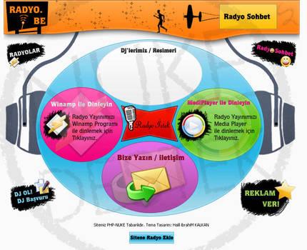 Php-Nuke Theme design Radyo.Be by Nukedestek