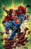 superman digital inks by frostdusk-d63wkp1 XGX GRE by knytcrawlr