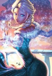 Elsa2017 Artgerm XGX by knytcrawlr