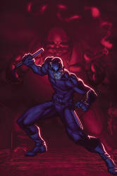 Daredevil Wizard Ace Edition Cover XGX by knytcrawlr