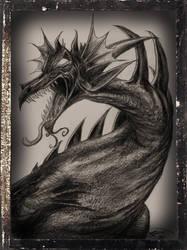 A Dragon Drawn for A Kid by oscillatorsweep