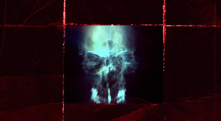 X-Ray skull on crimsonpaper by oscillatorsweep