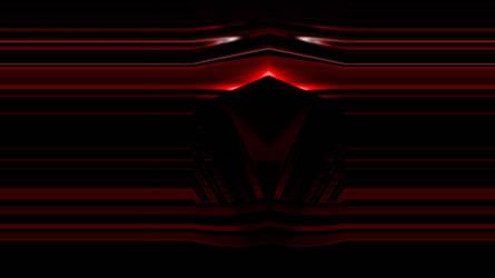 Deep Dark Red Chrome 1366x768 by oscillatorsweep