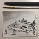 Inktober 13, 2017 'Teeming' by vertseven
