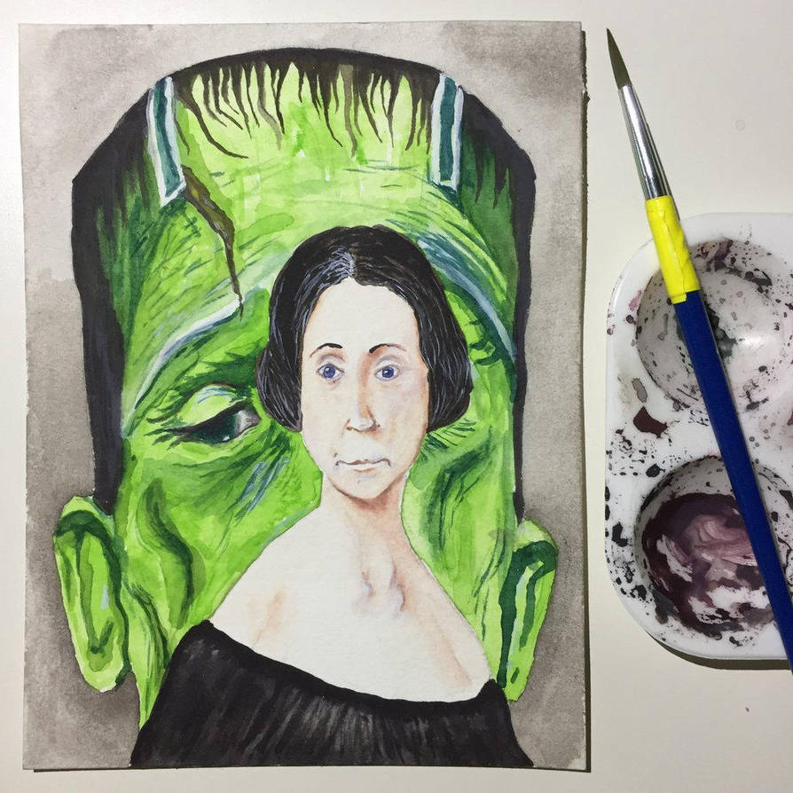 NaNoWriMo: Mary Shelley: Frankenstein by vertseven