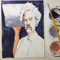 NaNoWriMo: Mark Twain: Tom Sawyer by vertseven