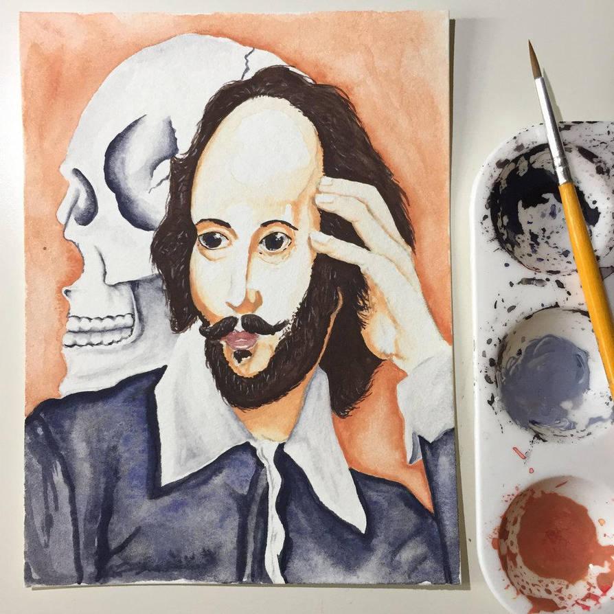 NaNoWriMo: William Shakespeare: Hamlet by vertseven
