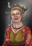 Genna Frey, nee Lannister by sashotso