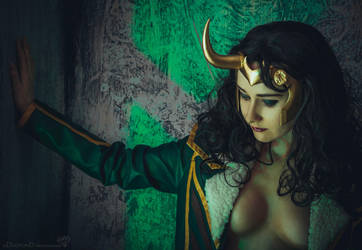 Loki - Goddess of Stories by Shiera13