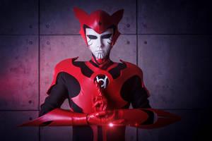 Red Lantern Razer by Shiera13