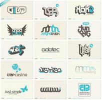 50th anniversary logofolio by schakalwal
