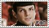 Spock Fan Stamp -2- by TaishoBee