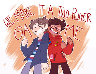 (FA) two-player game by p--ara