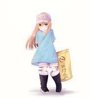 Platelet-chan! by LawNielleRIMM
