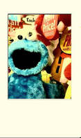 Cookie Monster. by MandyMacabre