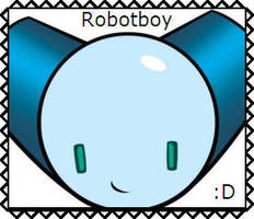 Robotboy Stamp by SpartaKitty