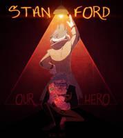 StanFord -SPEEDPAINT- by kiki-kit