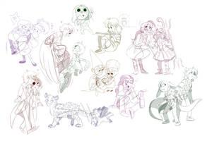sketch coms batch 1 by kiki-kit