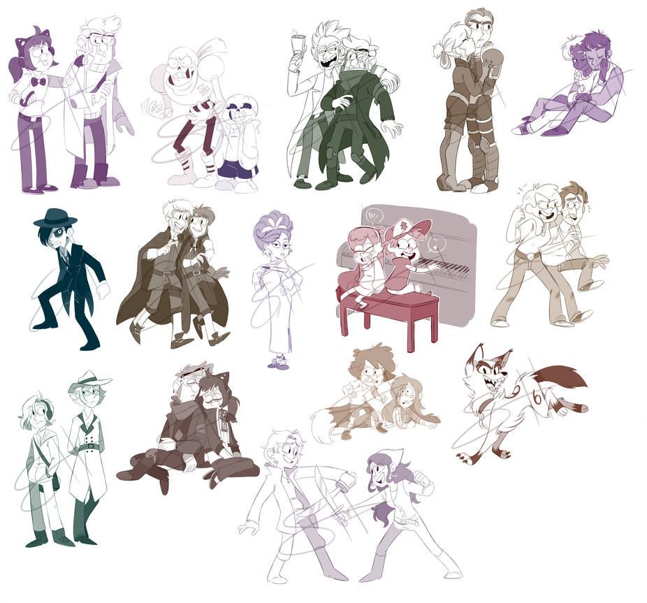 sketch com batches 4+5 by kiki-kit