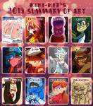 2015 Summary of Art by kiki-kit