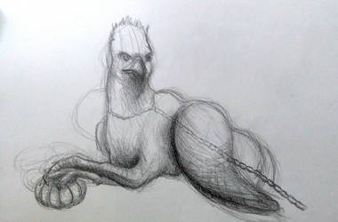 Buckbeak by doragonbat