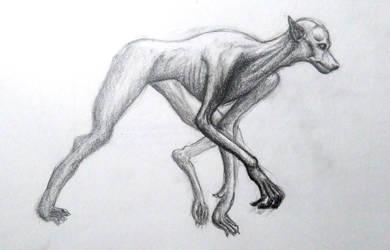 Lupin Werewolf by doragonbat
