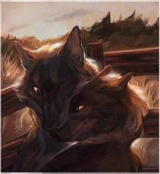 cuddles by Storiel