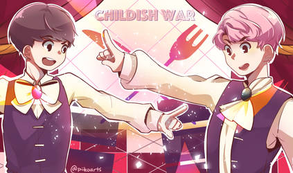BTS x Vocaloid - Childish War by piikoarts